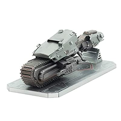 Fascinations Metal Earth 3D Metal Model Kits Star Wars Rise of Skywalker Set of 5 - D-O - First Order Treadspeeder - Sith Tie Fighter - Resistance A-Wing Fighter - Zorii's Y-Wing Fighter: Toys & Games