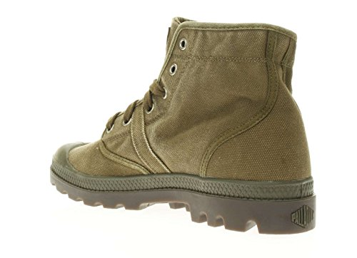 PALLADIUM hombre zapatillas de deporte de alto 02477-326-M PALLABROUSE talla 41 Verde oliva