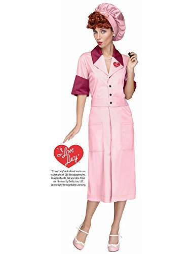 I Love Lucy Womens Candy Factory Costume - M/L -