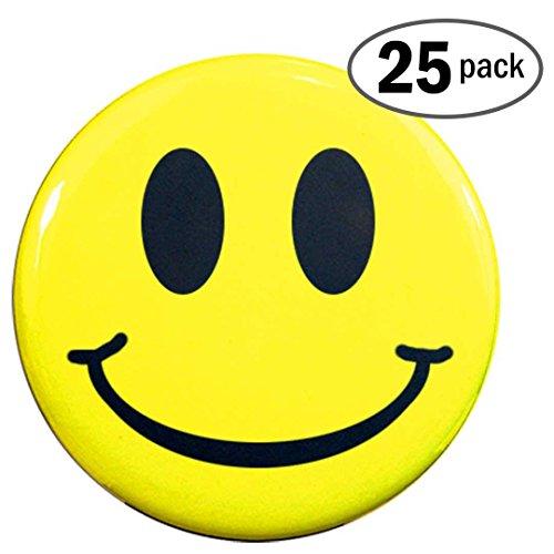 Henry Buttonsmith Smiley Face 25 Button