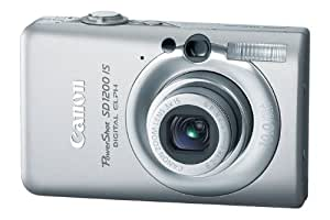 Canon PowerShot SD1200IS 10 MP Digital Camera with 3x Optical Image Stabilized Zoom and 2.5-inch LCD (Silver)