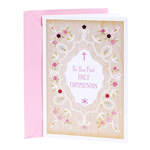 DaySpring Holy Communion Greeting Card (You're Wished Every Grace and Blessing) First Communion Card