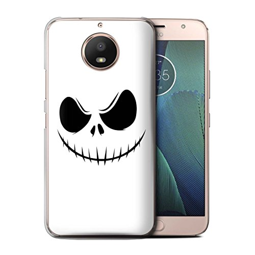 STUFF4 Phone Case/Cover for Motorola Moto E4 Plus 2017 / Jack Skellington Inspired Art Design/Horror Movie Art Collection for $<!--$6.99-->
