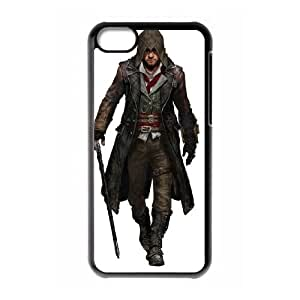 iPhone 5C Case Black Assassin'S Creed Syndicate Cell Phone Case Cover Y3R0SP