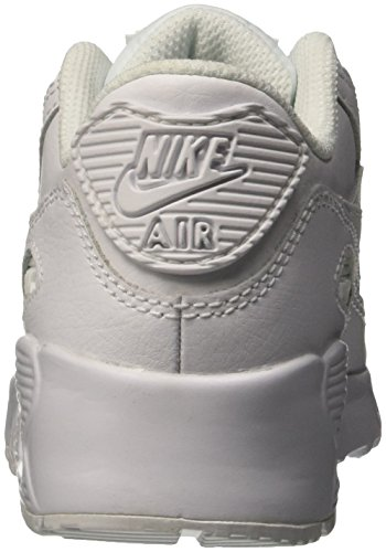 Nike Air Max 90 Ltr (ps) Pojkar Kör-shoes 833.414 Vit / Vit