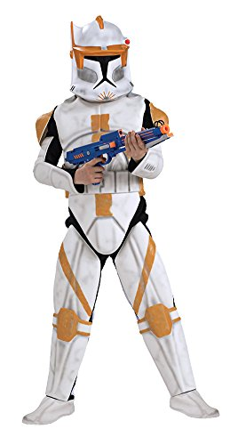 SALES4YA Kids-costume Clonetrooper Cody Deluxe Child Med Halloween Costume]()