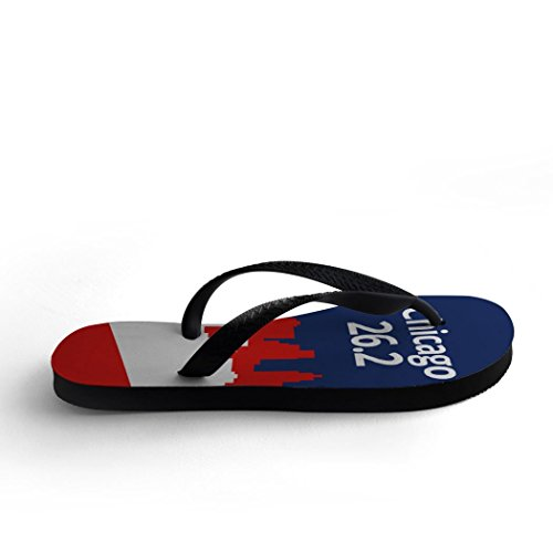 Flip Flops 26.2 Chicago Patriotique
