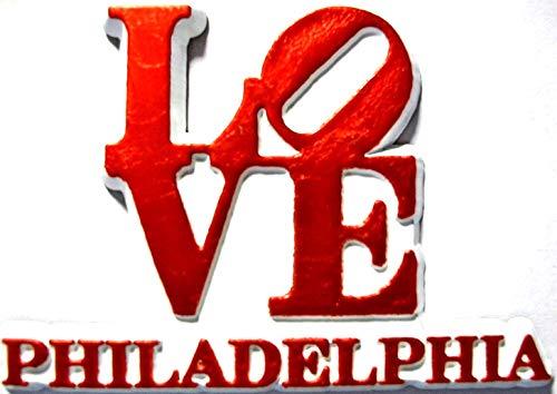 Philadelphia Love Fridge Magnet - Love Refrigerator Magnet
