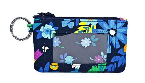 Image of the Vera Bradley Zip ID Card Case (Midnight Blues)