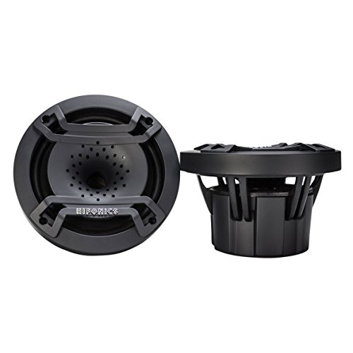 Hifonics Auto Speakers - Hifonics TPS-CX65 6.5 inch Compression Horn Speaker in a compact enclosure, Pair (black)