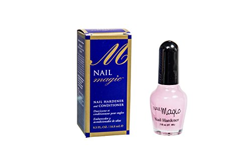 Nail Magic Nail Hardener & Conditioner, Prevents & Treats Chipping, Peeling, Brittle Fingernails, Strengthens, Conditions, & Hardens Nails, 0.5 fluid oz