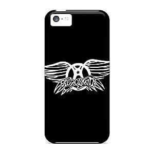 Shockproof Hard Cell-phone Case For Iphone 5c With Custom Trendy Aerosmith Series RichardBingley