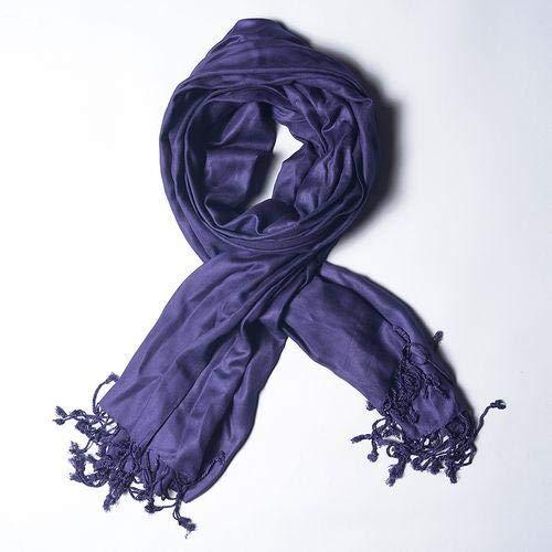 Echarpe Lisa Franjas Azul Marinho