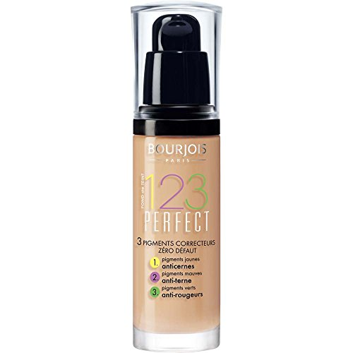 Bourjois 123 Perfect Foundation – 53 Light Beige (30ml)