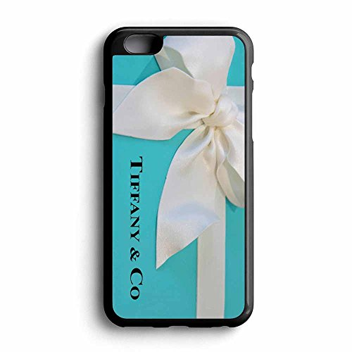 Fany Co iPhone 6 / 6s Rubber Case Black Frame Fit For iPhone 6 / 6s (Tiffany Co Iphone Case)