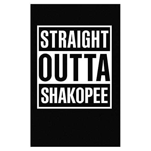 Inked Creatively Straight Outta Shakopee City Poster -