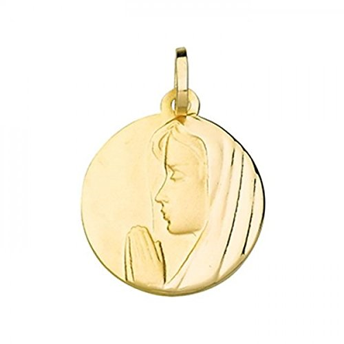 Medaille vierge or 375