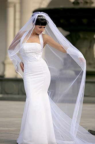 Bridal Wedding Cathedral Length Rattail product image