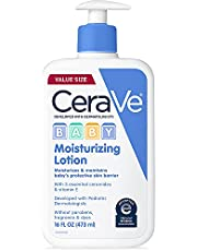 CeraVe Baby Lotion | Gentle Baby Skin Care with Hyaluronic Acid and Ceramides | Paraben and Fragrance Free