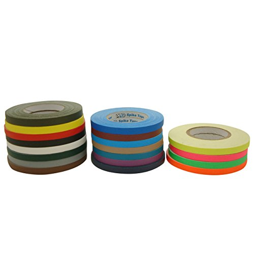 JVCC Stage-Set Spike Tape: 1/2 in. x 60 yds. (Grey)
