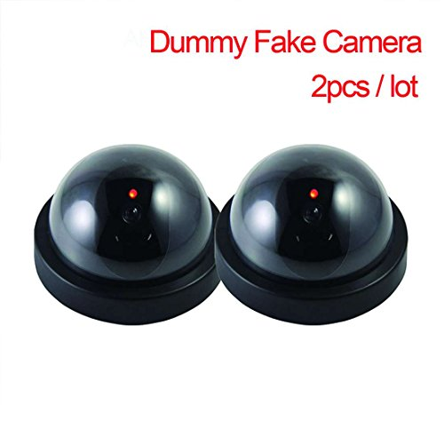 Discover Bargain Fake Security CCTV Camera Indoor Outdoor Waterproof Dummy Dome Shaped Surveillance ...