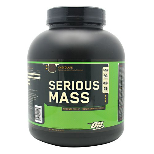 Optimum Nutrition Serious Mass, Chocolate, 6 Pound, Health Care Stuffs
