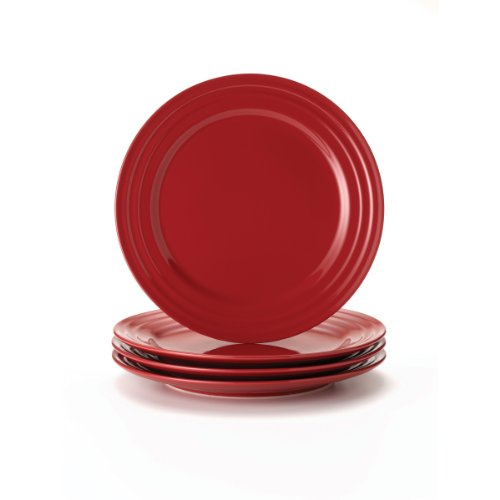 dge Dinner Plate (Set of 4) Color: Red ()