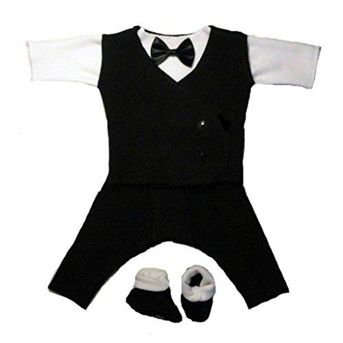 Jacquis Baby Boys Black White product image
