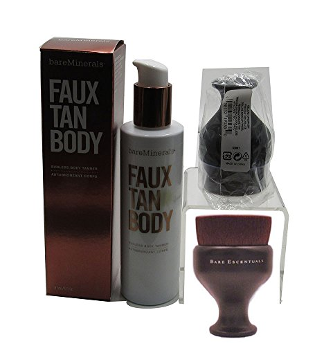 BareMinerals Faux Tan Body 6 fl. oz. and Deluxe Tan Brush ()