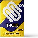 Papel Sulfite A4 Maxclip Branco 75g 210x297mm Resma com 500 folhas