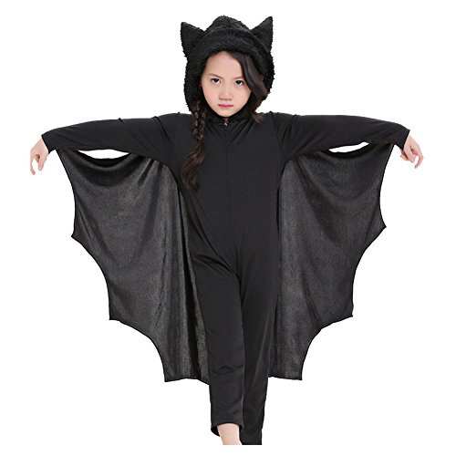 Costhat Bat Wings Halloween Cape Cloak Child Kids Girls Boys Fancy Dress (Jim Morrison Halloween Costumes)