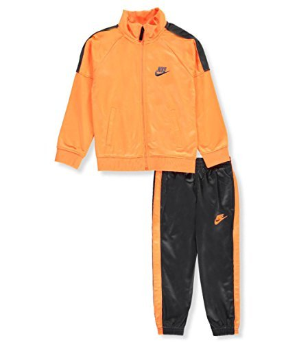 Nike Little Boys' 2-Piece Tricot Tracksuit (Sizes 4-7) - anthracite, 4