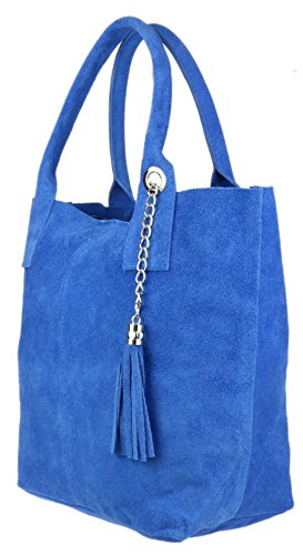 mujer hombro azul Girly de al Sintético para real Handbags Bolso Material 8Hpq6HRS