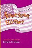 American Humor, David E. Sloane, 0817309101