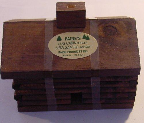 Paine's Super Cabin Burner With 20 Fir Balsam Incense Sticks