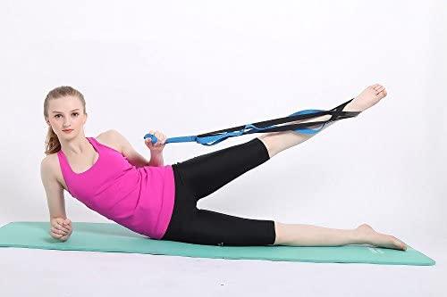 Cinta elástica elástico de elongación Yoga Banda Multi Loop out Strap gestützten Cinturón Best para Home Fitness, Yoga, Dance, Pilates, Fisioterapia