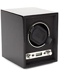WOLF 453870 Meridian Single Watch Winder, Black