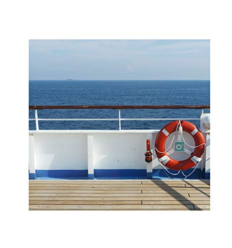Advanced Graphics Cruise Ship Deck Backdrop (Double Wide) Life Size Cardboard Cutout ()