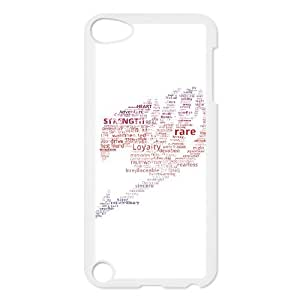 YUAHS(TM) Personalized Hard Back Cover Case for Ipod Touch 5 with fairy tail YAS035648