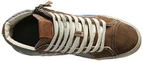Diesel D-string - Zapatillas abotinadas Hombre Marrón