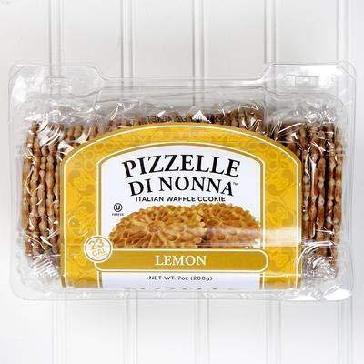 Pizzelle Di Nonna Italian Waffle Cookie (Lemon)
