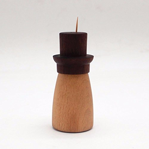 Lucsy Simple Toothpick Box, Wooden hat, Toothpick Container, European Creative Home Supplies. ()