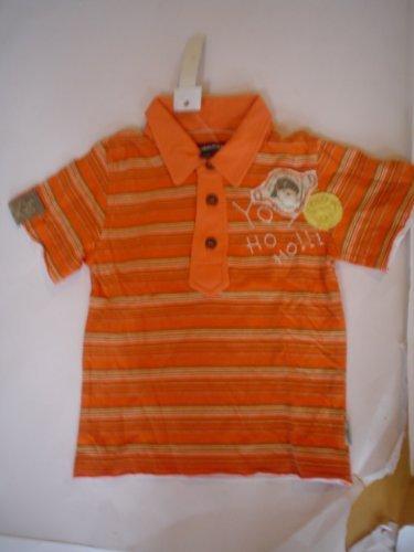 Jean Bourget Bebé Niño Polo Pirata J113007 - algodón, Naranja, 100 ...