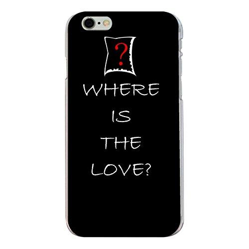 """Disagu Design Case Coque pour Apple iPhone 6 PLUS Housse etui coque pochette """"WHERE IS THE LOVE"""""""