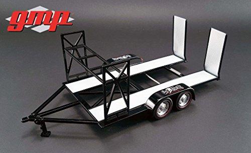 New 1:18 GAS MONKEY GARAGE TANDEM CAR TRAILER Diecast Model Car By GMP