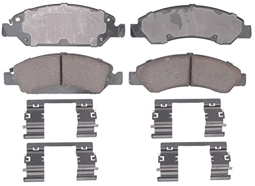 (ACDelco 17D1363CH Professional Ceramic Front Disc Brake Pad Set )