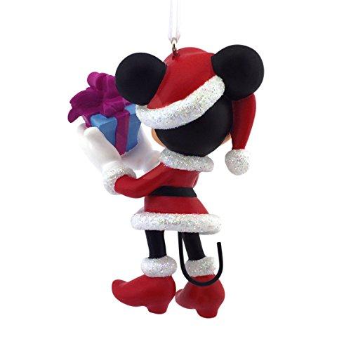 hallmark disney minnie mouse as mrs claus christmas ornament multi color 31 customer reviews item sku fxho00iz8mh3d features description