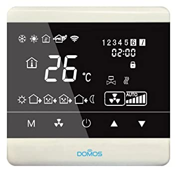Termostato Inteligente Wifi DOMOS: Amazon.es: Bricolaje y herramientas