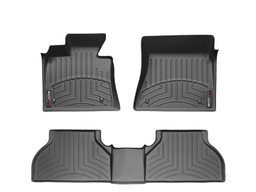 WeatherTech (444561-442292 FloorLiner, Front/Rear, Black
