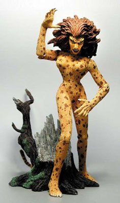 Wonder Woman: Amazons and Adversaries - Cheetah Action Figure (Cheetah Wonder Woman)
